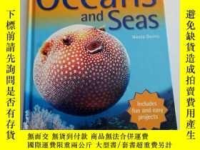 二手書博民逛書店Oceans罕見and Seas (Kingfisher You