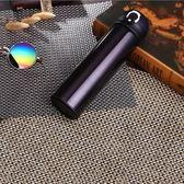 PUSH!餐具用品500ML304不銹鋼真空保溫杯黑紫色E117-1黑紫色