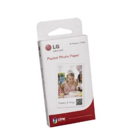 LG PD-251Pocket Photo 專用相紙2包(60張相紙)