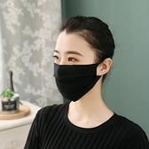 口罩 100%桑蠶絲春夏季真絲防曬大口罩女透氣騎車防塵面紗薄款防紫外線-Ballet朵朵