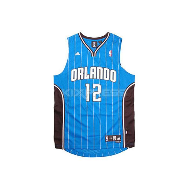 Adidas NBA Swingman Jersey [083802] 男 籃球 球衣 藍黑 DWIGHT HOWARD