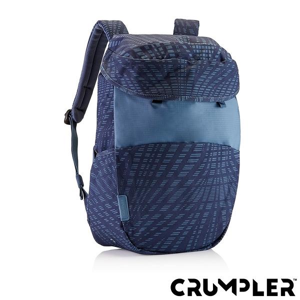 Crumpler小野人 LIFE HACK 嘻哈後背包 格紋藍