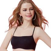 思薇爾-it Bra系列B-D罩抹胸壓模素面包覆內衣(黑色)