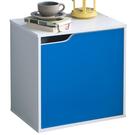 門櫃 收納【收納屋】粉彩單格單門櫃-三色可選&DIY組合傢俱