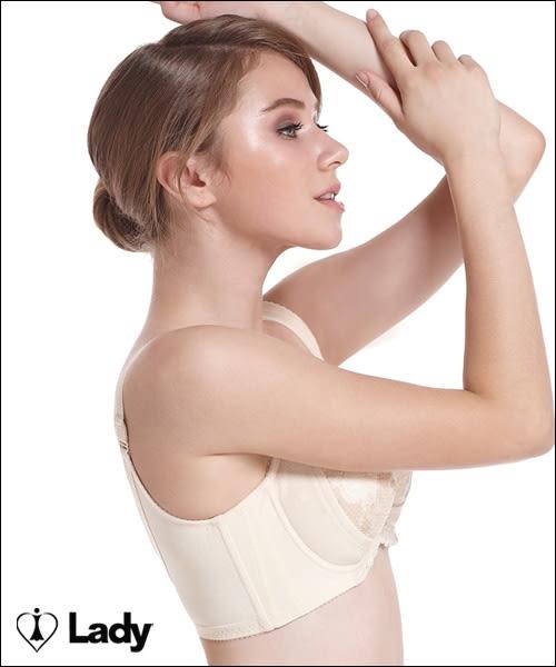 LADY 涼感纖體美型系列 機能調整型  E-F罩內衣(悠活膚)