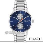 【僾瑪精品】COACH Delancey 率性大方 時尚中性錶-藍/42mm/14602098