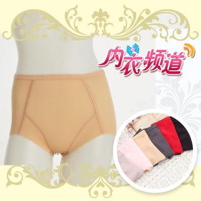 內衣頻道♥B321 台灣製 無痕鎖布料 束腰提臀  輕機能 輕薄款 中腰束褲-(3入/組) M/L/XL