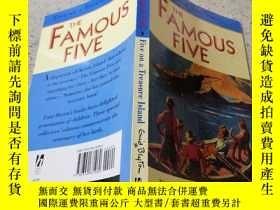 二手書博民逛書店the罕見famous five著名的五個。Y200392