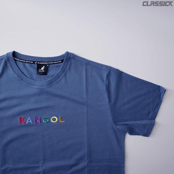 【四月新品】KANGOL 袋鼠 短T 短袖 小LOGO 彩紅 藍 6021101882