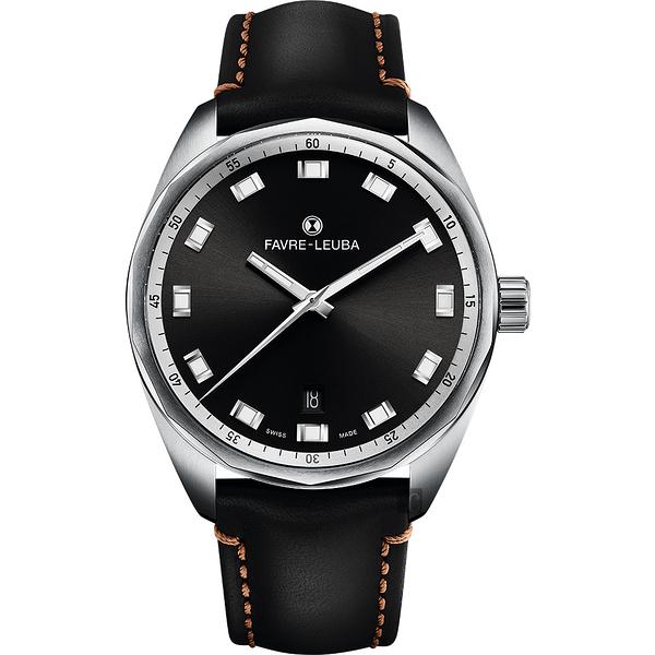 Favre-Leuba 域峰錶 SKY CHIEF DATE都會紳士機械手錶-40mm 00.10203.08.11.41