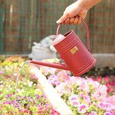 塑料灑水壺樹脂澆花壺植物噴水壺園藝噴壺1.5L澆水壺【聚寶屋】