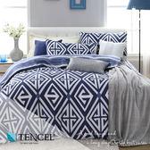 天絲床包兩用被四件式 雙人5x6.2尺 秋憶  100%頂級天絲 萊賽爾 附正天絲吊牌 BEST寢飾