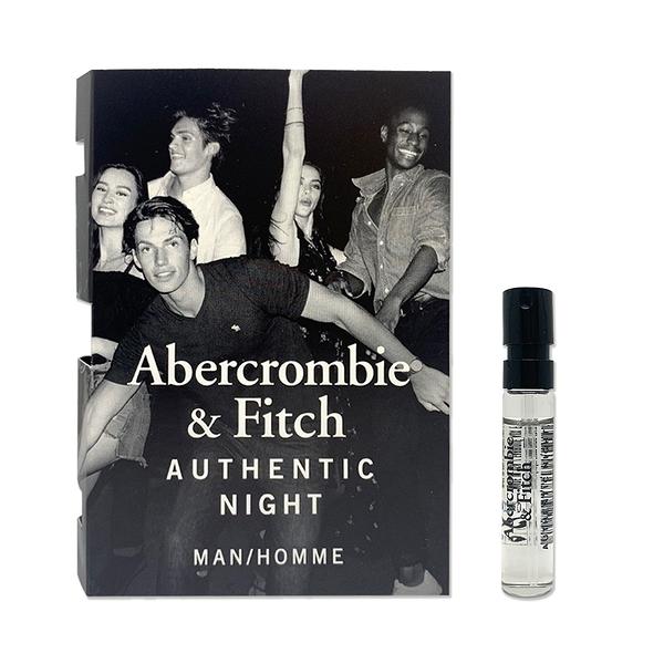Abercrombie&Fitch 真我夜色男性淡香水 針管 2ml