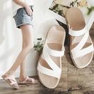 拖鞋女外穿時尚夏海邊沙灘鞋女士外出穆勒鞋網紅INS潮涼拖鞋百搭