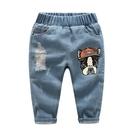 男童牛仔長褲 2020夏季裝新款正韓童裝兒童寶寶褲子休閒褲