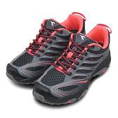 LIKA夢 DIADORA 輕量戶外野趣郊山越野慢跑鞋 翼風酷涼系列 黑灰桃 5192 女