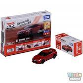 TOMICA 多美小汽車 4D版 日產Nissan GT-R Red 01 (TAKARA TOMY) 10495