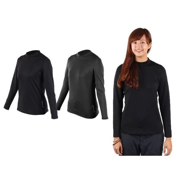 WILDLAND 女高領長袖T恤-(保暖衣 刷毛 遠紅外線 內穿外搭 免運≡體院≡