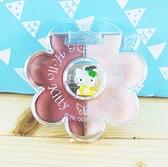 【震撼精品百貨】Hello Kitty 凱蒂貓~2色口紅盤組-黃KT