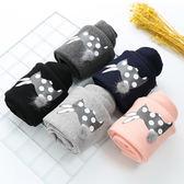毛球小兔加絨長褲 童裝 保暖褲 刷毛 內搭褲