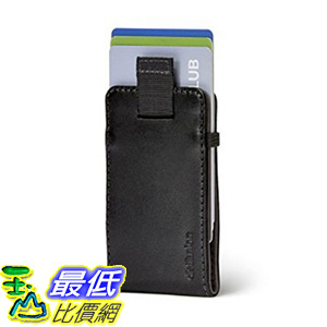 [106美國直購] Distil Union WM108 黑色 Wally Micro 迷你信用卡皮夾 Slim Wallet and Card Holder