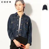 出清 美國棉 丹寧夾克 牛仔外套 女 現貨 免運費 日本品牌【coen】