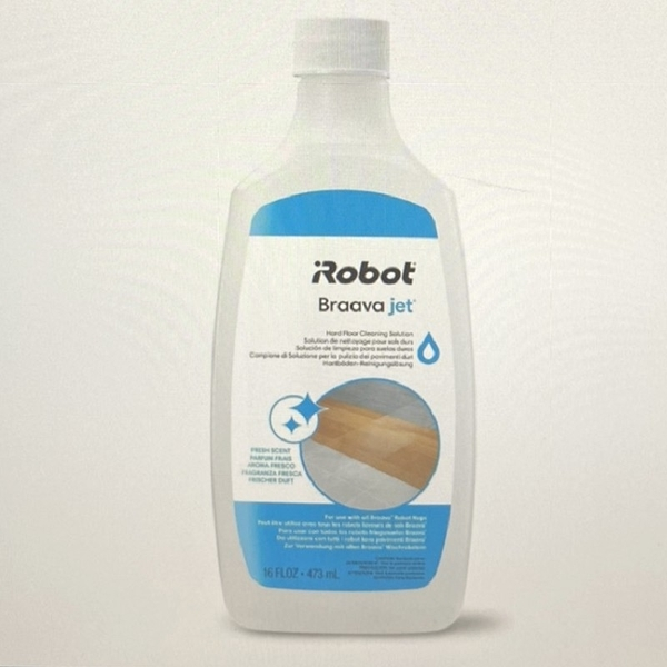 [8美國直購] 硬地板清潔劑 Braava jet Hard Floor Cleaner Compatible with all Braava Robot Mops 4632813