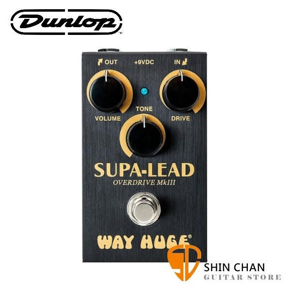 Dunlop WM31 破音效果器【Supa-Lead/OverDrive MKIII/Way Huge/Mini】