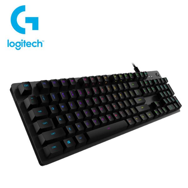 [富廉網]【羅技】Logitech G512 RGB機械遊戲鍵盤(GX 線性 紅軸)