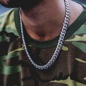 【新飾界】滿鑽項鍊 hiphop潮人個性粗鍊