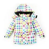 兒童彩色格子防風防潑水雪衣 滑雪衣 保暖厚外套夾克 橘魔法 baby magic  北海道 韓國 滑雪 雪衣