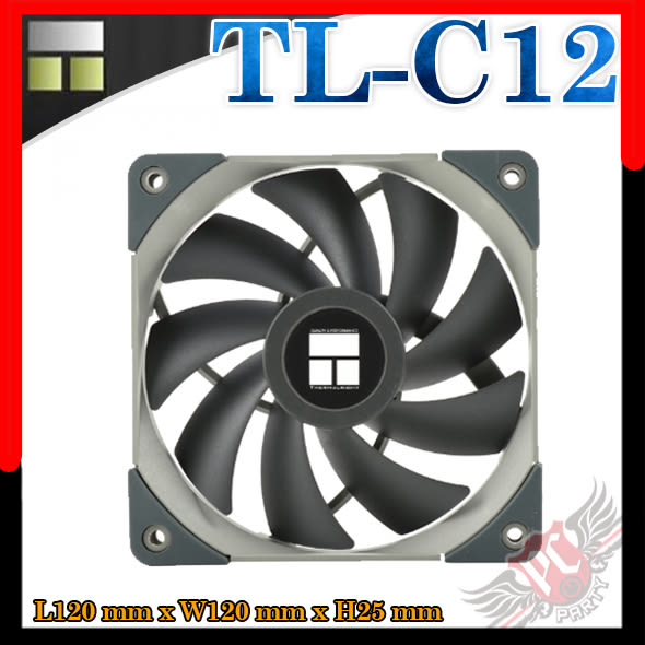 [ PC PARTY  ]   利民 Thermalright TL-C12 12公分PWM 風扇