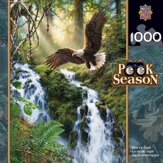 【KANGA GAMES】拼圖 呼嘯鷹 Peek Season - Roaring Eagle 1000片