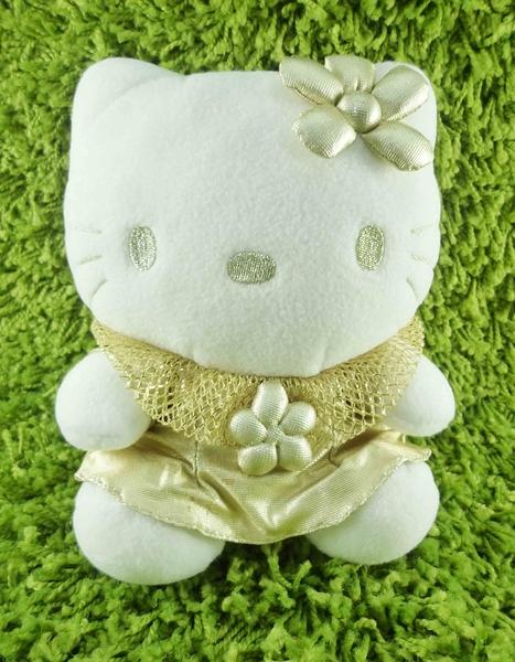 【震撼精品百貨】Hello Kitty 凱蒂貓~KITTY絨毛娃娃-亮片金天使
