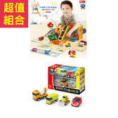 特價組合 TAYO 工地現場遊戲組+工程車4件組 _TT72589+TT72621