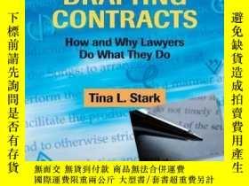 二手書博民逛書店Drafting罕見ContractsY256260 Tina L. Stark Aspen Publishe