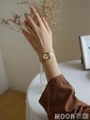 手錶女簡約風氣質小巧復古女式女士女生手錶女學生小錶盤 Moon衣櫥
