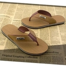 夏天人字拖男士夏季木紋涼拖鞋防滑平跟夾腳涼鞋沙灘鞋歐美潮流