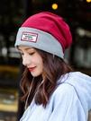 帽子女秋冬包頭帽