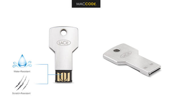 LaCie PetiteKey 16G 100公尺 防水 金屬材質 鑰匙型 隨身碟 免運費