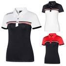 高爾夫 春夏高爾夫短袖T恤女士上衣速干透氣高爾夫球衣服拼色修身