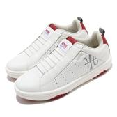 Royal Elastics 休閒鞋 Icon Manhood 2.0 白 紅 男鞋 無鞋帶 反光 時尚 運動鞋【ACS】 06502018