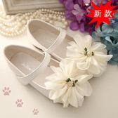 女童公主兒童花朵表演出小女孩中大童學生鞋