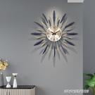 鐘錶掛鐘客廳創意現代簡約時鐘個性大氣家用時尚裝飾藝術北歐掛鐘YYJ【父親節禮物】