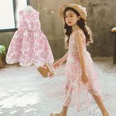 洋裝童裝女童連身裙夏裝蓬蓬紗裙