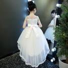 女童禮服 女童夏裝蓬蓬紗洋裝童裝禮服小女孩裙子兒童洋氣公主裙-Ballet朵朵