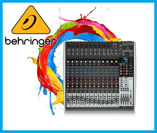 【小麥老師樂器館】Behringer 耳朵牌 Mixer X2442usb 混音器 x2442 usb