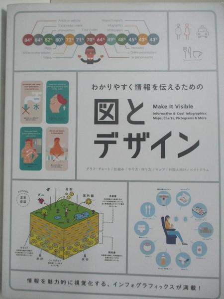【書寶二手書T3/電腦_EKU】圖表和設計Make it Visible(日文)