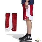 Adidas 男 紅 白 短褲 籃球褲 ...