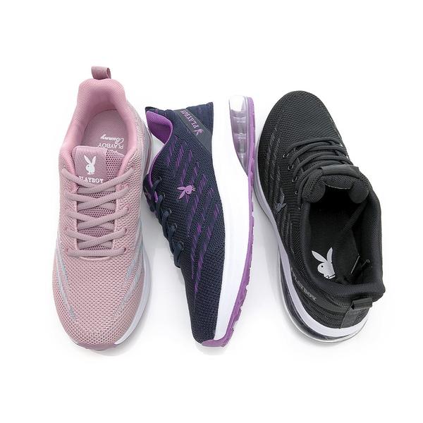 PLAYBOY Candy Bubble Plus 輕量氣墊休閒鞋-藍紫(Y7235)
